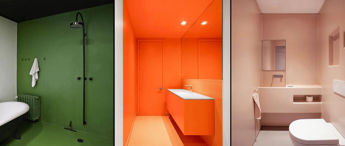 Esempi di resine coloratissime - Idea ristruttura